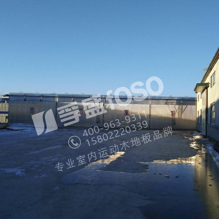 大曌龙8国际平台入口地板生产厂房