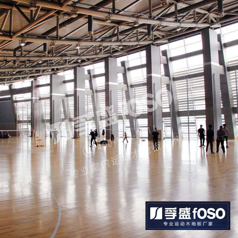 孚盛--羽毛球馆运动地板