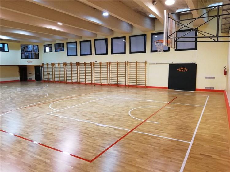 上海市北中学室内龙8app客户端下载龙8国际授权网站施工完成