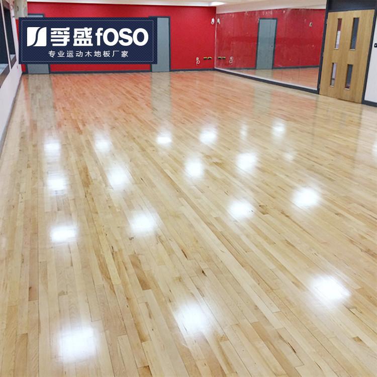 健身房专业实木运动地板