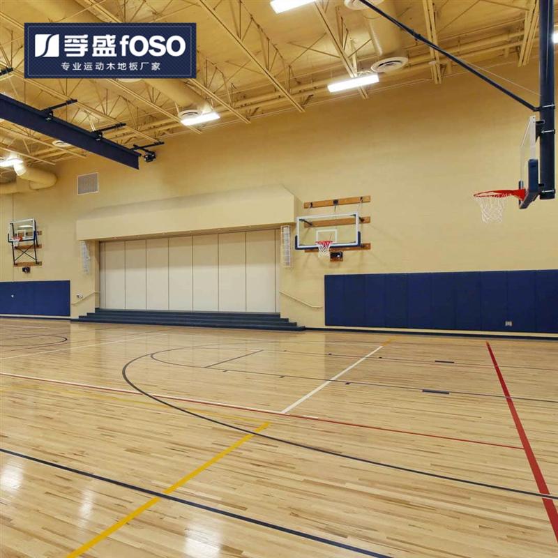山西省太原市篮球俱乐部施工完成